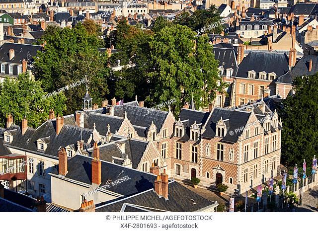 France, Loiret, Orleans, Groslot hotel