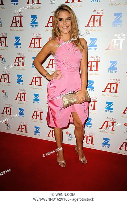 Arts for India Golden Gala - Arrivals Featuring: Gemma Oaten Where: London, United Kingdom When: 31 May 2017 Credit: WENN.com
