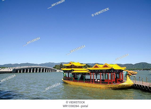 Beijing Summer Palace Boat