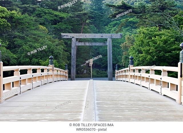 Isa Shrine Torii Gate