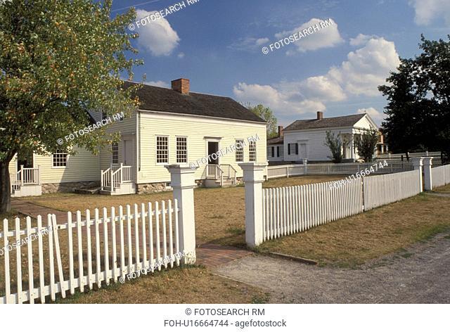 NY, New York, Mumford, Jones Farm at Genesee Country Village & Museum