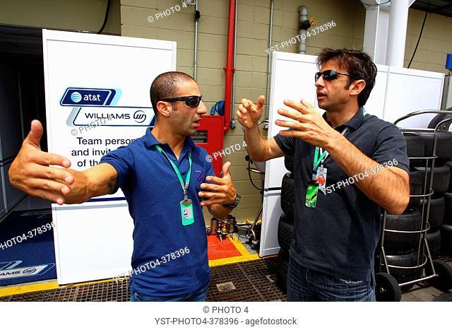 27.11.2011- Tony Kanaan and Christian Fittipaldi