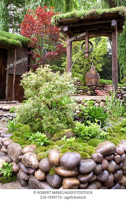 Satoyama Life Garden at RHS Chelsea Flower Show 2012