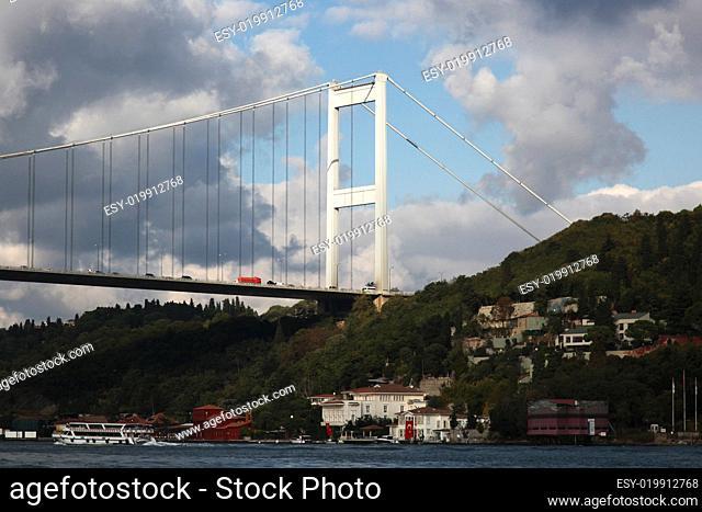 Fatih-Sultan-Mehmet-Brücke Istanbul