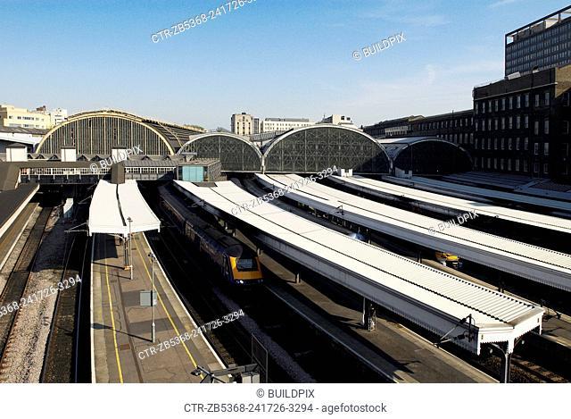 Paddington Railway Station, West London, UK