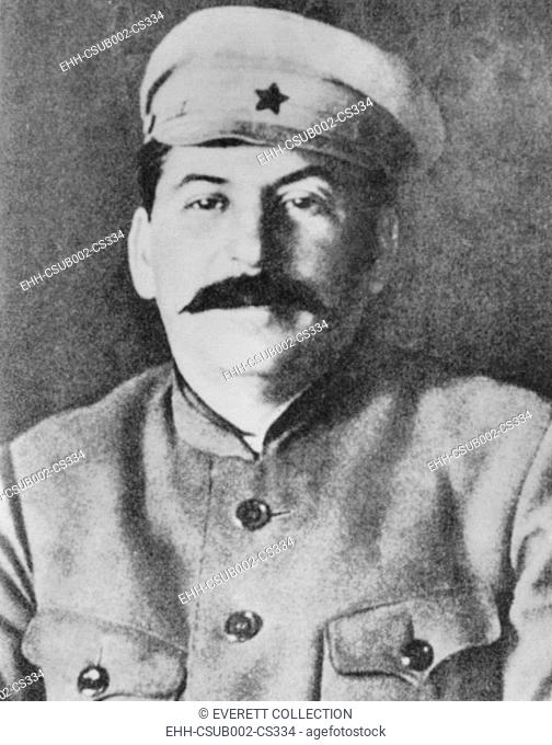Josef Stalin in the uniform of the Red Army, ca. 1920. (CSU-2015-11-1371)