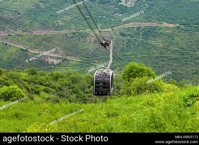 Armenia, Tatev, Wings of Tatev Aerial tramway, world's longest cable car ride