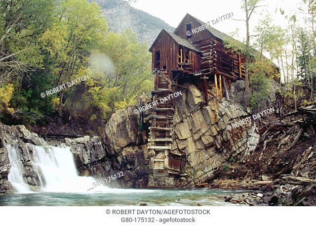Old Crystal Mill. Colorado. USA