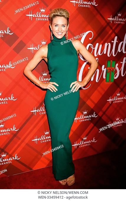 Hallmark's 'Christmas at Holly Lodge' screening at 189 The Grove Drive - Arrivals Featuring: Nicky Whelan Where: Los Angeles, California