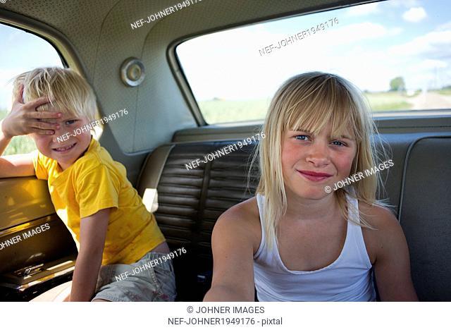 Children in the rearseat