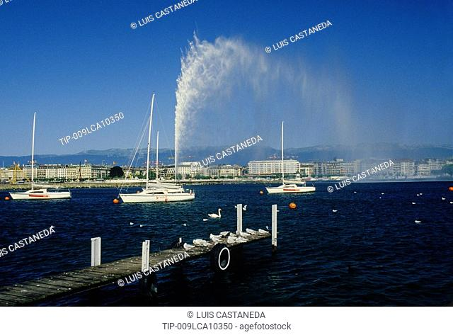 Switzerland, Geneva- Jet d'Eau