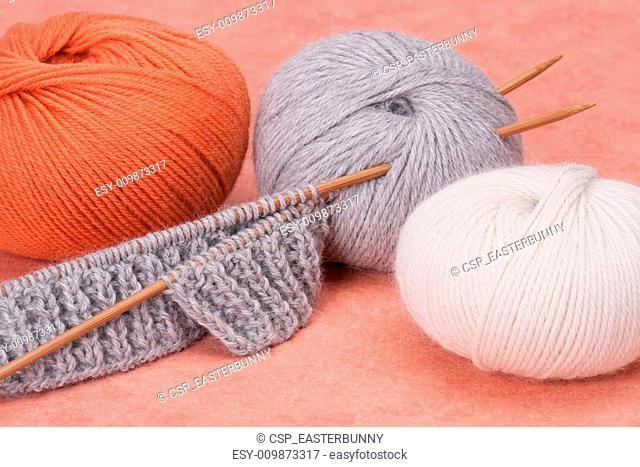 Knitting Craft Kit. Hobby Accessories
