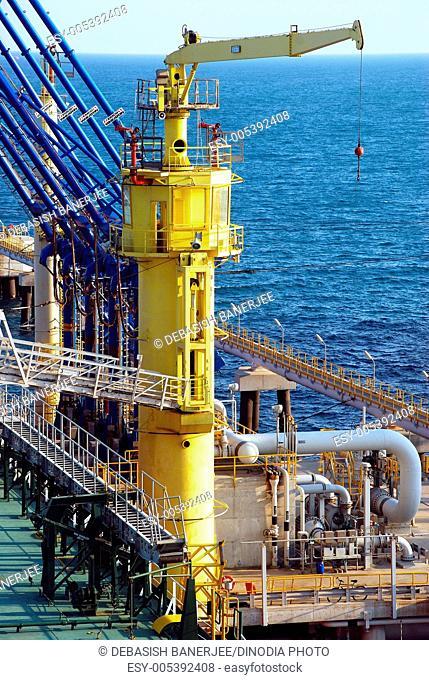 Oil terminal in Ceyhan , Turkey