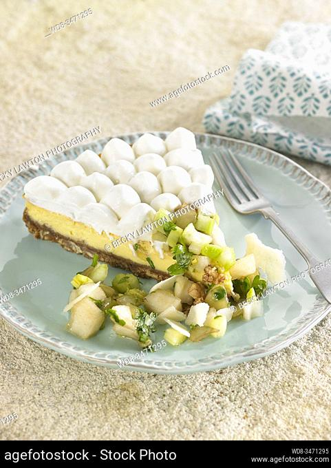 cheesecake de gorgonzola / gorgonzola cheesecake