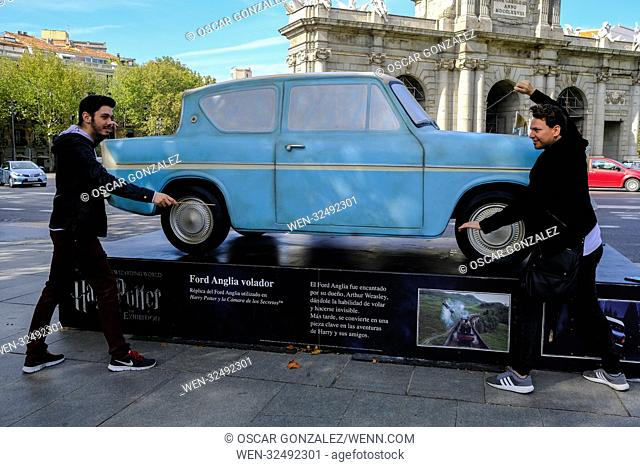 'Harry Potter: The Exhibition' Statues presentation at Callao Square in Madrid, Spain Featuring: Atmosphere Where: Madrid