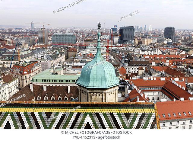 Stephansdom (detail), Vienna, Austria