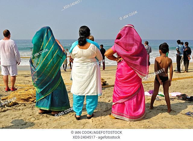 Hawa Beach, Kovalam, Kerala, India