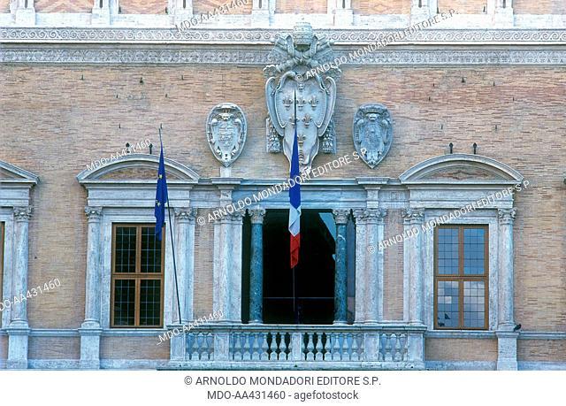 Palazzo Farnese, by Michelangelo Buonarroti, Antonio Cordini also known as Antonio da Sangallo the Younger, Giacomo della Porta