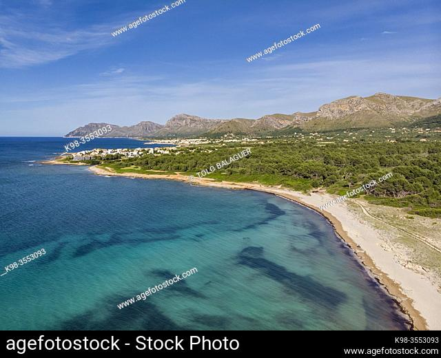 Arenal de sa Canova, Artà - Santa Margalida, Natural Area of Special Interest, Mallorca, Balearic Islands, Spain