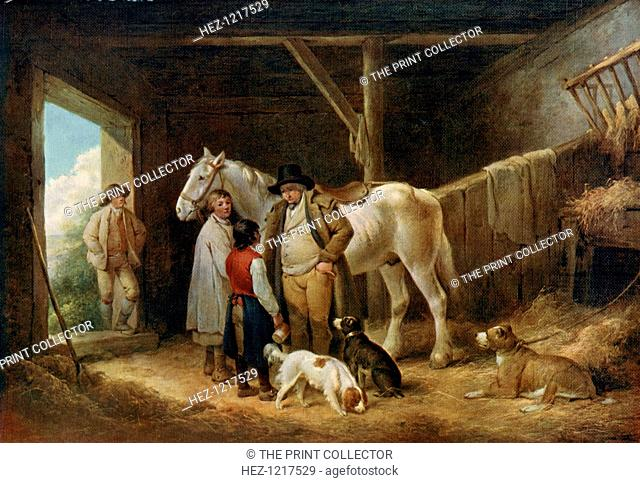 'The Reckoning', c1783-1804, (1912). A colour print from Famous Paintings, with an introduction by Gilbert Chesterton, Cassell and Company, (London, New York