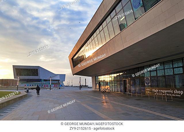 The new Pier Head Ferry terminal,
