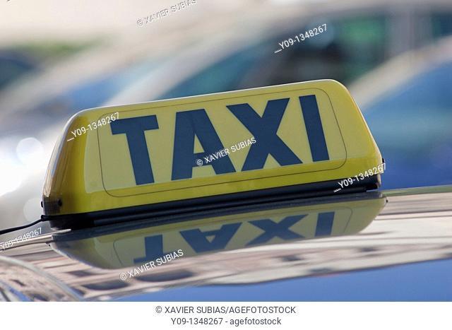 Taxi, Prague, Czech Republic