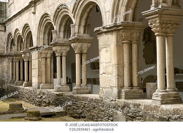 Provincial museum - cloister, Lugo, Region of Galicia, Spain, Europe