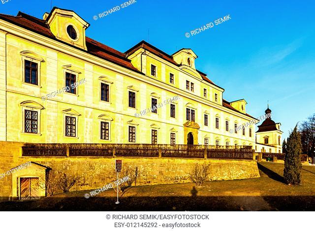 Palace of Rychnov nad Kneznou, Czech Republic