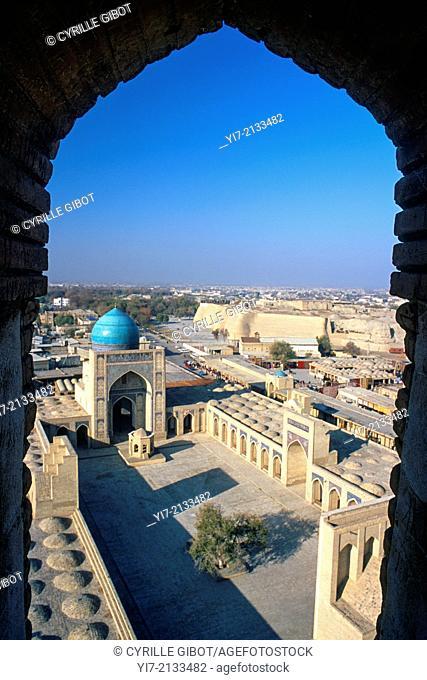 Kalyan (also called Kalon) mosque, Bukhara, Uzbekistan, Central Asia