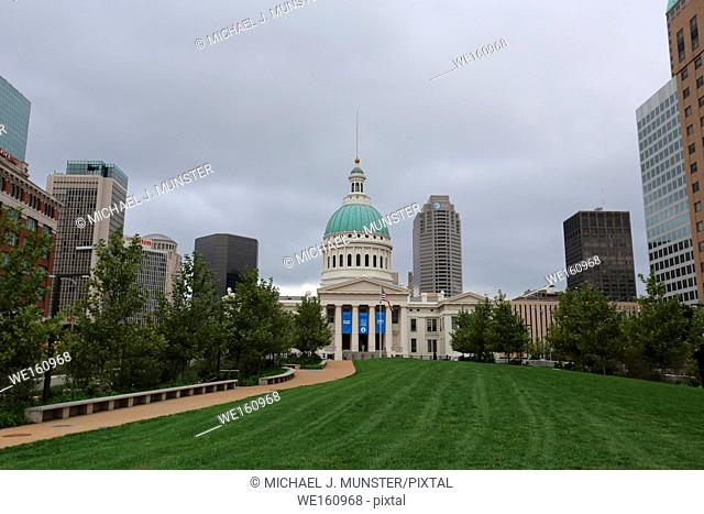Old Courthouse in Saint Louis, Missouri. USA