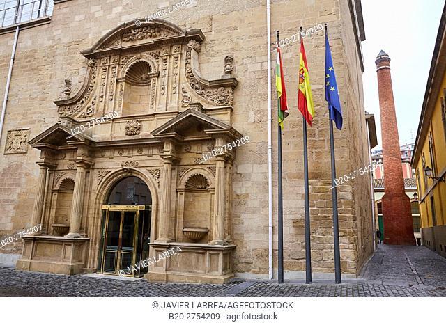 Old Convent of La Merced, Parlamento de la Rioja, Regional Parliament, Logroño, La Rioja, Spain, Europe