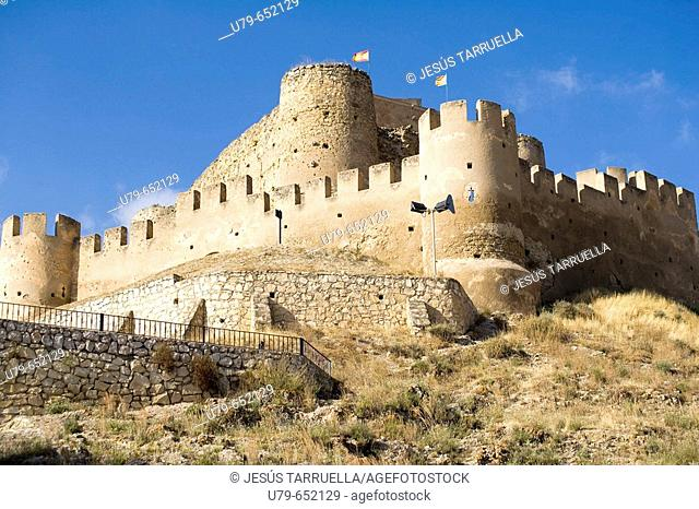 Biar castle. Alicante province. Comunitat Valenciana. Spain