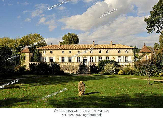 Chateau Beauregard, Pomerol, Gironde department, Aquitaine region, south-western France, Europe