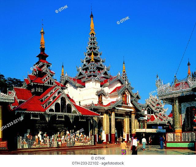 Shwedagon Pagoda, Rangoon, Myanmar, Burma