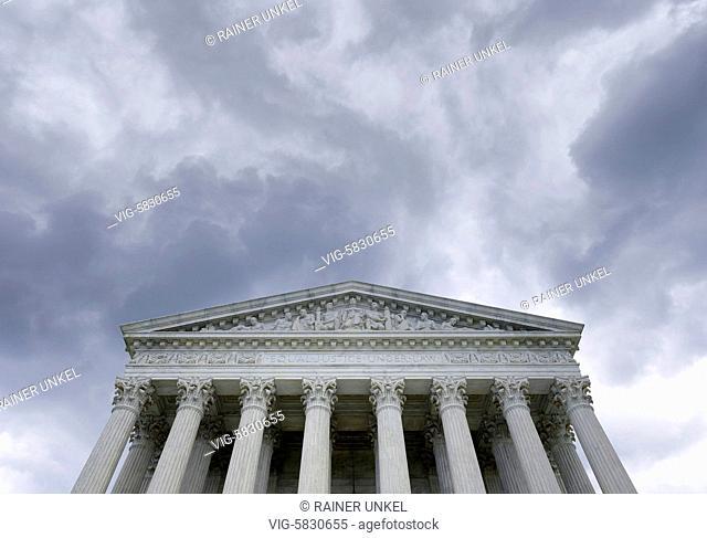 USA : Supreme Court in Washington , 26.05.2017 - Washington, District of Columbia, USA, 26/05/2017