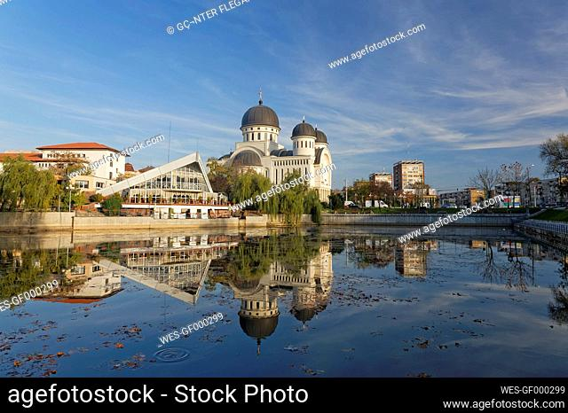 Rumania, Crisana, Arad, Orthodox Cathedral