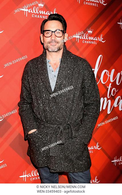 Hallmark's 'Christmas at Holly Lodge' screening at 189 The Grove Drive - Arrivals Featuring: Gregory Zarian Where: Los Angeles, California