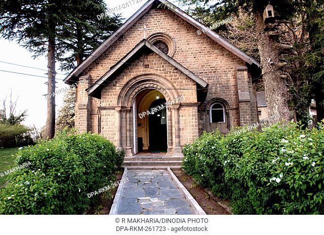St Johns Church, Dalhousie, Himachal Pradesh, India, Asia