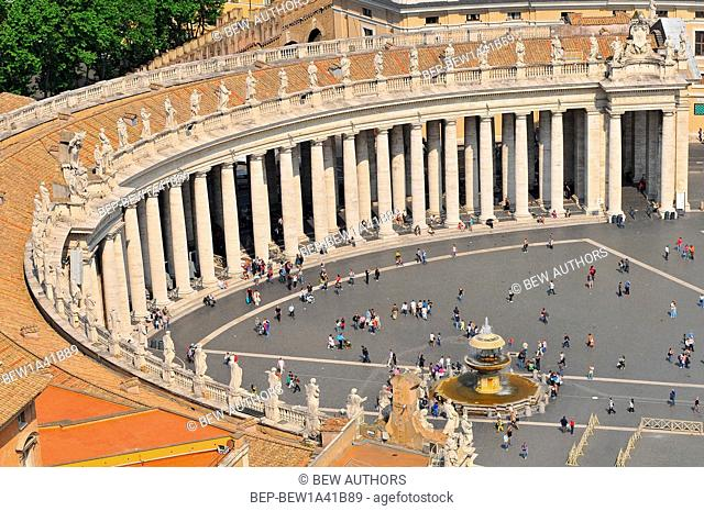 Italy, Lazio, Rome, Vatican City, Saint Peters's square