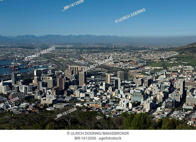 Downtown Cape Town, Western Cape, South Africa, Africa