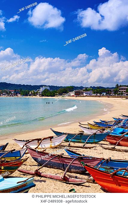 Sri Lanka, Ceylon, Eastern Province, East Coast, Trincomalee, Dutch bay, Trincomalee beach