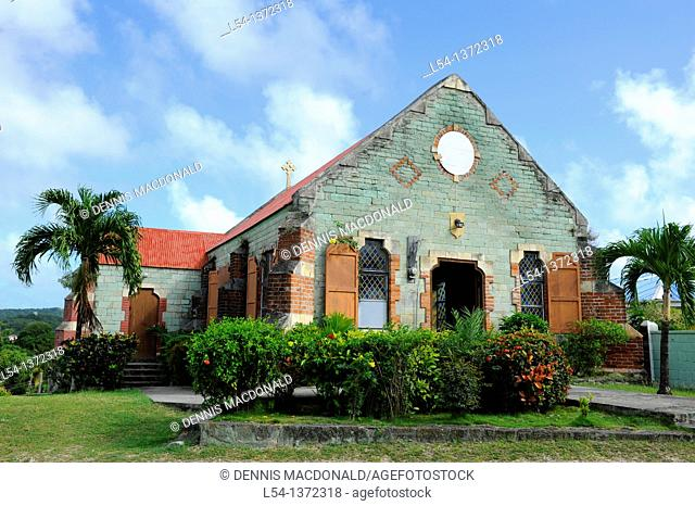 St  Barnabas Catholic Church St  John's Antigua Caribbean Cruise NCL