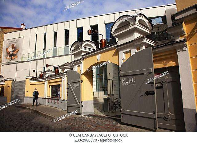 Nuku puppet theatre and museum in the old town,Tallinn, Estonia, Baltic States, Europe