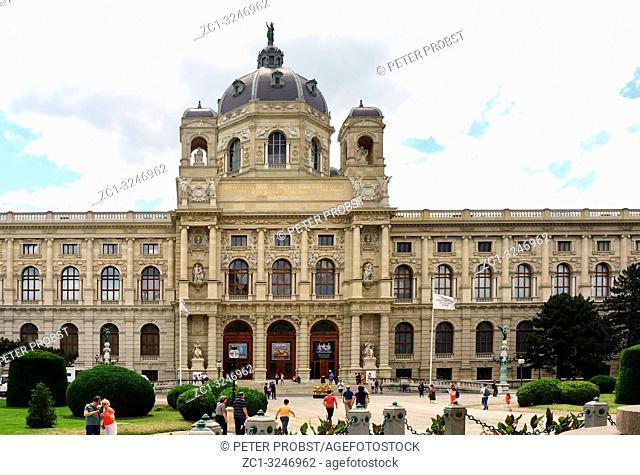 Museum of Art History on the Maria-Theresien-Platz in Vienna - Austria