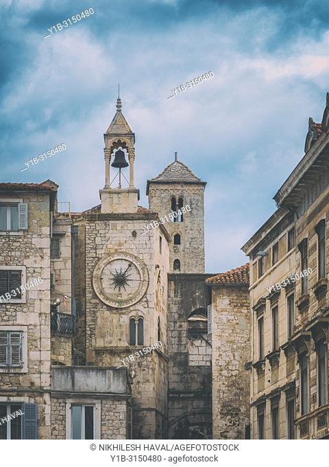 Zvonik Ispod ure/ Bell tower under clock, Split, Croatia
