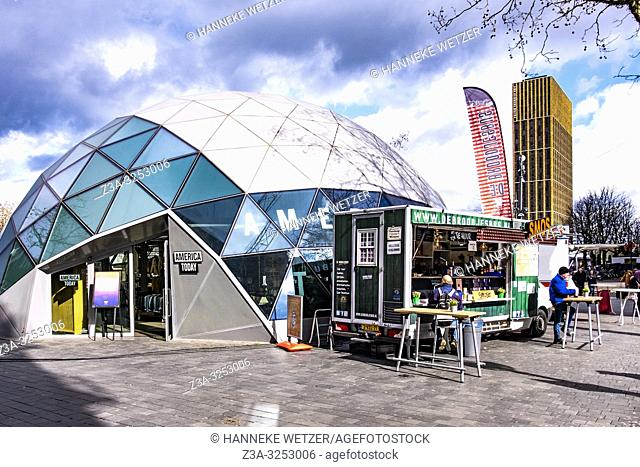 America Today modern igloo in Eindhoven, The Netherlands, Europe