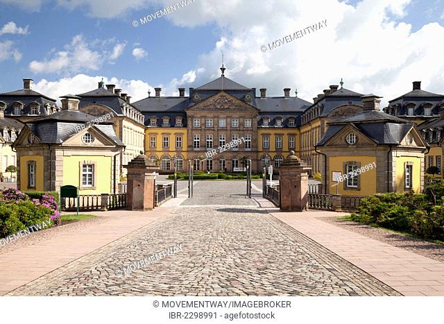 Arolsen Castle, Bad Arolsen, Waldecker Land region, Hesse, Germany, Europe, PublicGround