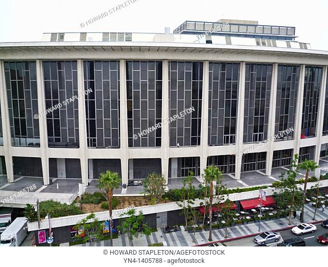 Dorothy Chandler Pavilion, home of the Los Angeles Opera. Los Angeles Music Center. Los Angeles, California U S A