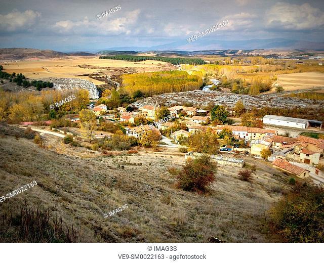 Villaescusa de las Torres village, Las Tuerces, Palencia, Castilla y León, Spain, Europe