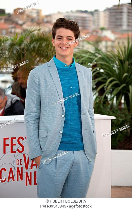 US actor Israel Broussard poses during the photocall for 'The Bling Ring' at the 66th annual Cannes Film Festival in Cannes, France, 16 May 2013